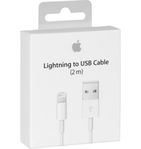 ΑΥΘΕΝΤΙΚΟ APPLE USB TO LIGHTNING CABLE WHITE 2M (RETAIL)