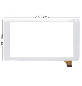 ΜΗΧΑΝΙΣΜΟΣ ΑΦΗΣ TOUCH SCREEN Bitmore ColorTab 7' COLTAB78WH Λευκο kingvina 126-070f